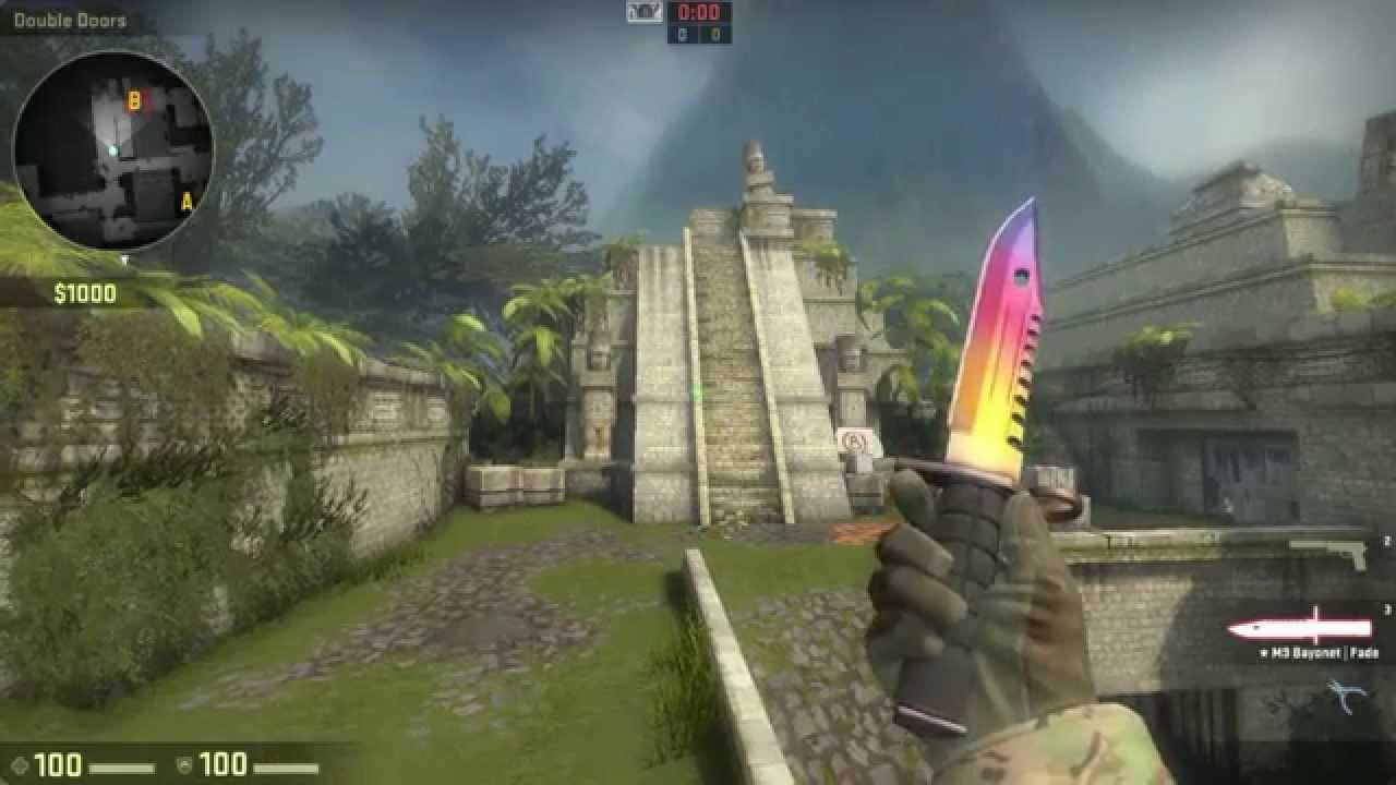 Huntsman Knife cs go Fade Cs:go ★ m9 Bayonet   Fade