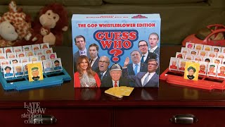 Guess Who? GOP Whistleblower Edition