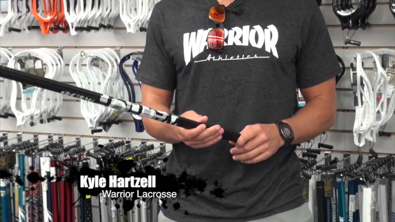 Warrior Krypto Pro Diamond Lacrosse Shaft Warrior Krypto Pro Lacrosse