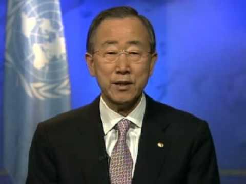 UN Secretary-General Ban Ki-moon supports Earth Hour