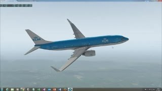 MODIFIED default 737-800 in X-Plane 11