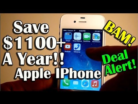 Cheap Apple IPhone Nationwide Service - Save $1100+ A YEAR! - Page Plus Cellular Review