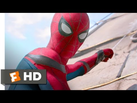 Spider-Man: Homecoming (2017) - Washington Monument Rescue Scene (3/10) | Movieclips thumbnail