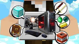 Minecraft Épico #67: O SUPER PC QUE ARMAZENA TODOS OS ITENS DO ÉPICO!!!