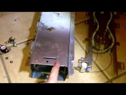 Replacing Heating Element on Kenmore HE2 Dryer