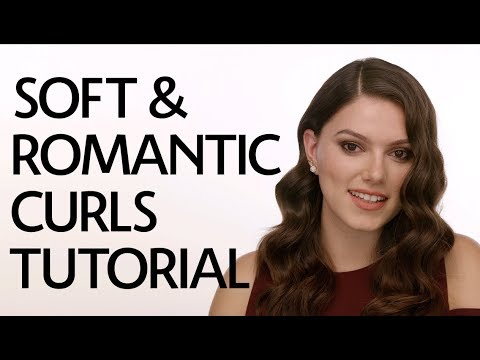 Soft & Romantic Curls Tutorial   Sephora