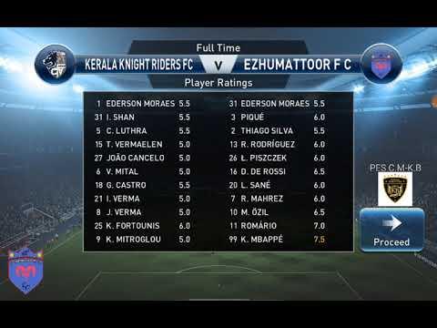 KBL SEASON4 , GROUP D : KERALA KNIGHT RIDERS vs EZHUMATTOOR F C highlights