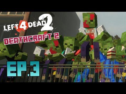 Minecraft en L4D2 - Las Mazmorras - Ep.3 - Deathcraft 2 con Celo