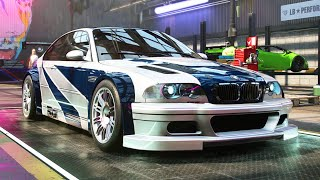 Most Wanted BMW M3 GTR - Need for Speed: Heat Part 12