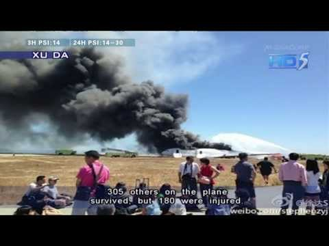 Two killed as Asiana jet crashes in San Francisco - 07Jul2013