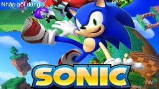 Trò chơi sonic chạy ăn vàng cực hay,  zhangtv chơi game Sonic Dash.