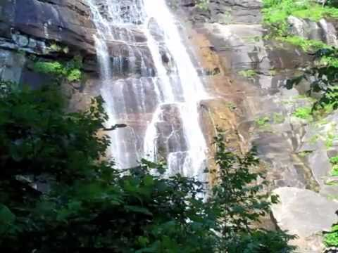 Chimney Rock State Park - Hickory Nut Falls Trail
