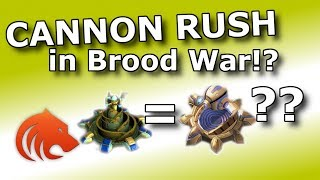 StarCraft Remastered: Cannon Rushing in Brood War!