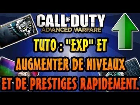 Advanced Warfare Tuto: Comment XP RAPIDEMENT Monter de Niveaux & Prestiges facilement.