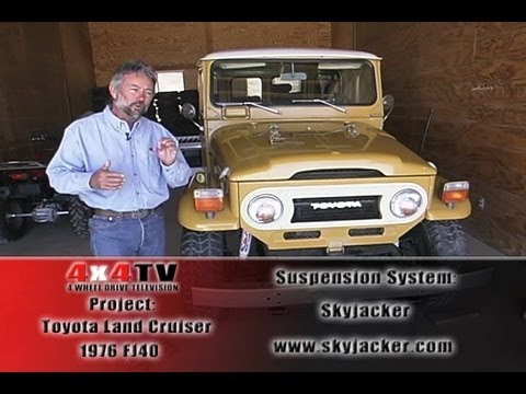 Skyjacker Lift Toyota Land Cruiser FJ40 - 4x4TV Project Forty P2