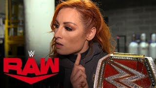 Becky Lynch still has one debt to collect: Raw Exclusive, Dec. 2, 2019