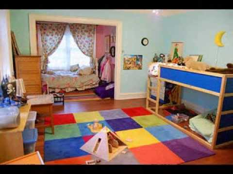 Boy and girl shared bedroom ideas youtube for Boy girl bedroom ideas shared