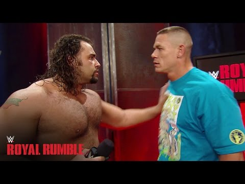 John Cena gets into an altercation with Rusev - WWE Network Exclusive