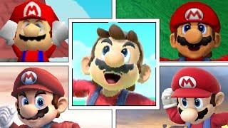 Evolution Of Mario In Super Smash Bros Series (Moveset, Animations & More)