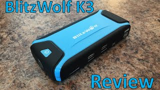 BlitzWolf K3 power bank / car jump starter