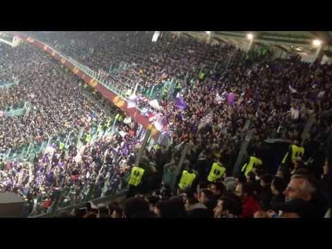 Juventus-Fiorentina 1-1 (EL) gol di Gomez delirio ospite (13/3/2014)