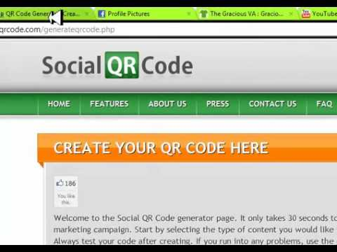 Social QR Codes for Virtual Assistants