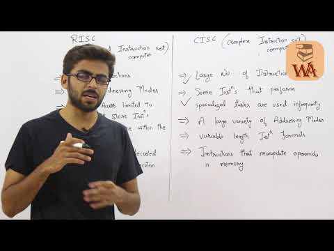 RISC and CISC in Computer Organization GATE Lectures | Computer Organization GATE
