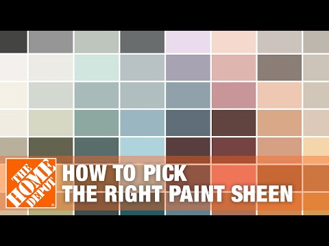 how to pick the right paint sheen youtube. Black Bedroom Furniture Sets. Home Design Ideas