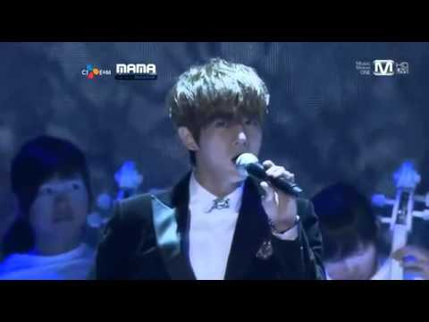 [111129] Beast Ft. Lang Lang & Trouble Maker - Fiction [mama 2011 In Singapore] video