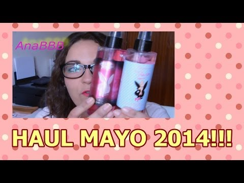 HAUL MAYO 2014 (Primark, The Blam, Mary Paz, HyM, Mabelline....)