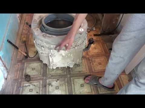 Замена подшипников в стиральной машине атлант