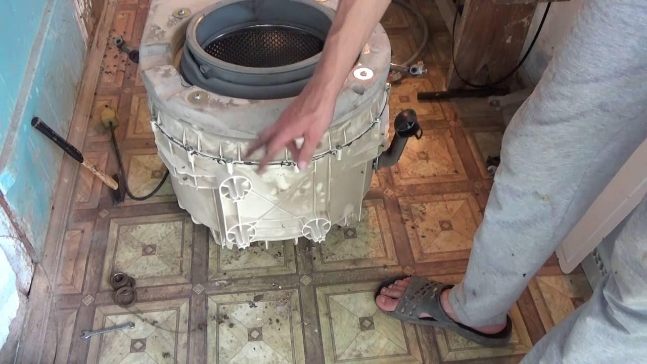 Поменять подшипник в стиральной машине атлант своими руками в 49
