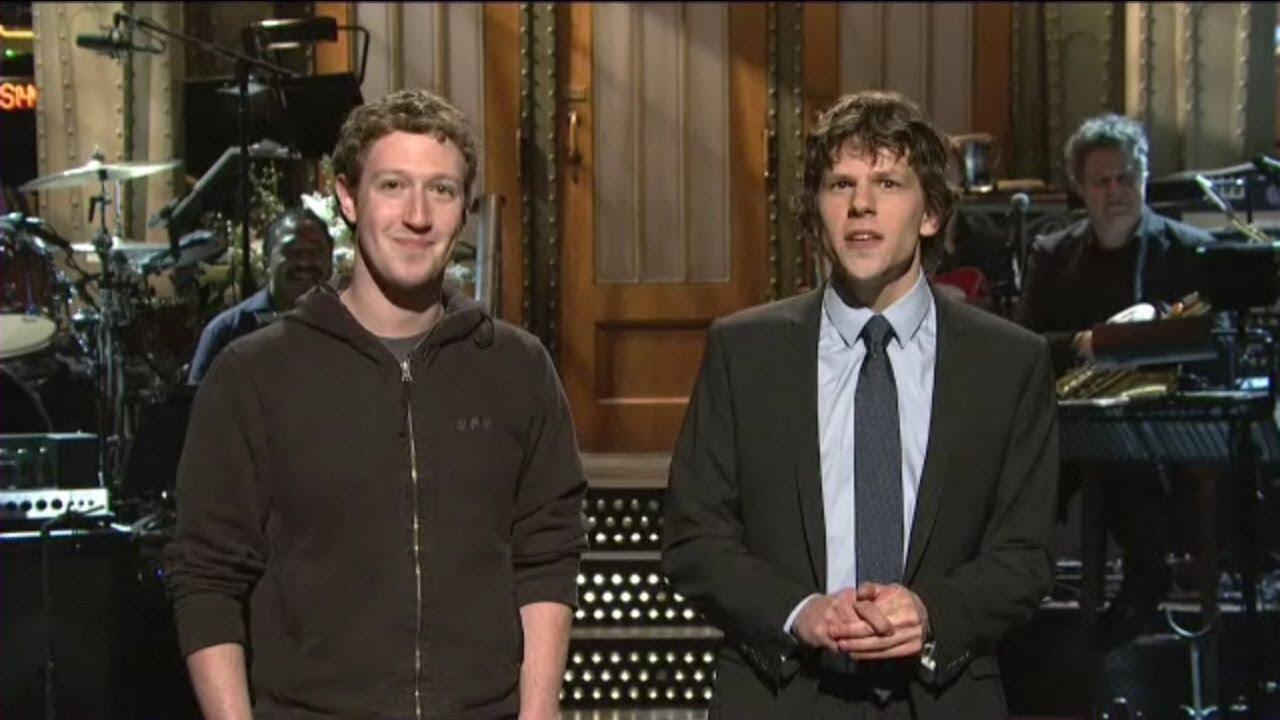 Nbc Mistakes Jesse Eisenberg For Mark Zuckerberg Youtube