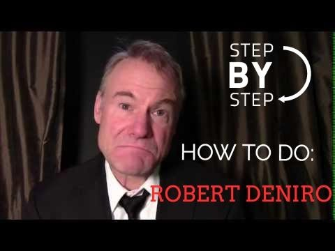 How to Do a Robert Deniro Impression by Jim Meskimen