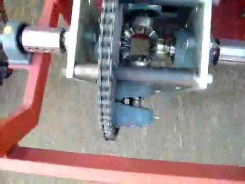 Gincana de Criatividade e Engenharia 2009  - Gaiola Motorizada - Diferencial Funcionando