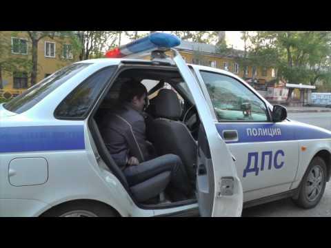 Пьяный на Ауди Дзержинского. Место происшествия 19.05.2015