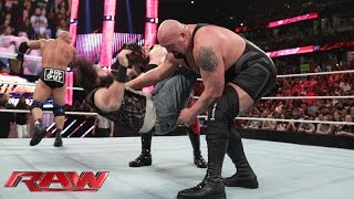 Big Show vs. Braun Strowman: Raw, February 15, 2016