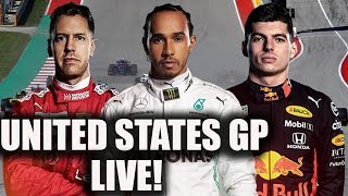 2019 United States Grand Prix Race Watchalong