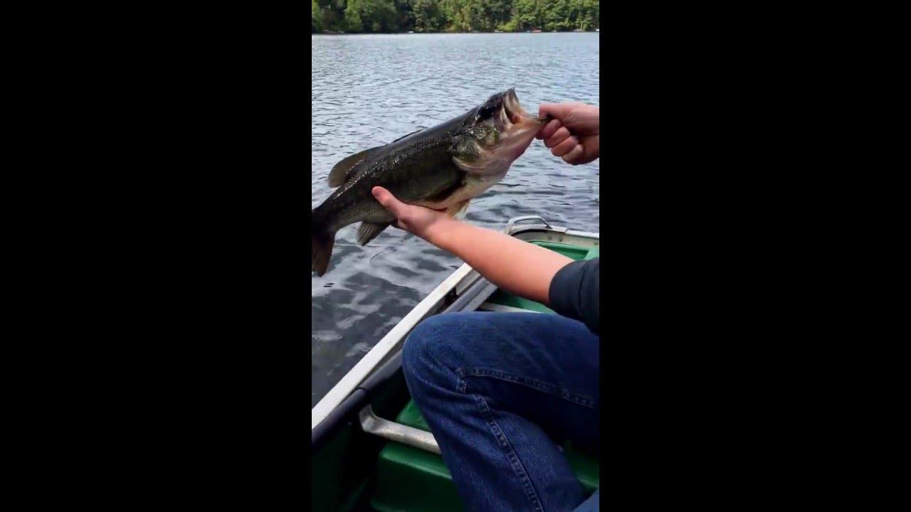 Fishing ponds of Mahopac New York largemouth bass