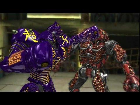 Живая сталь-Нойзи бой против Твин Ситиза(кто сильней)Noisy boy vs Twin cities