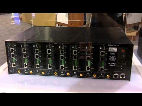 CEDIA 2013: Savant Systems Introduces SmartLink HDBaseT Switcher