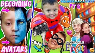 FUNnel Vision DISNEY TOYS + INSIDE OUT THIEF @ EPCOT, Cars Challenge! +AVATAR World FUNnel Summ