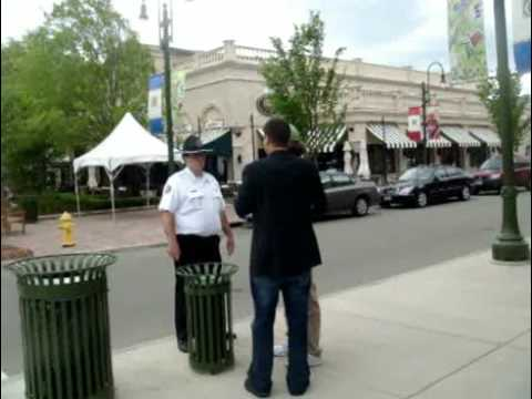 Local community responds to the Obama Deception screening and street action