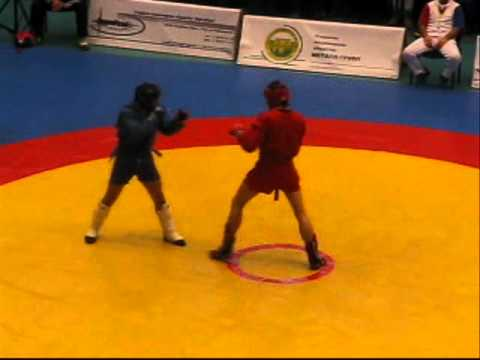 Russian Championship for Combat Sambo, St Petersburg, 2011.02.26-27. Part 1: Knockouts Image 1