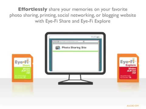 How Eye-Fi Wireless Memory Cards Work