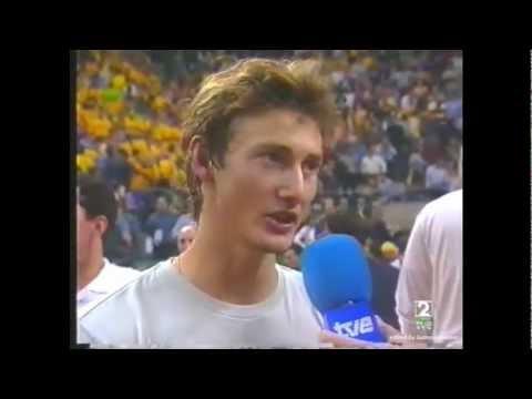20001210 Juan Carlos Ferrero en Copa Davis