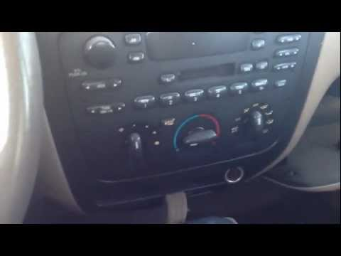 How to remove factory ford radio