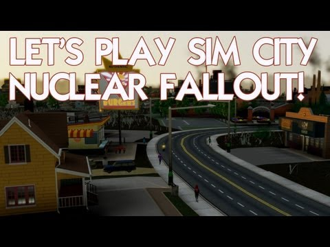 Let's Play SimCity after a nuclear fallout