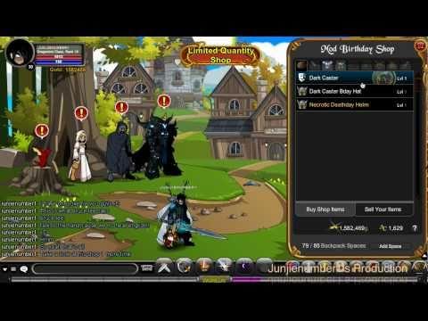 AQW - Dark Caster Armor
