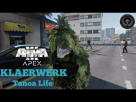 ARMA 3 - KLAERWERK Tanoa Life | aggressiver Mann braucht Medizin | [1080p/DE] | #28
